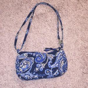 Vera Bradley Windsor Navy Small Purse Bag